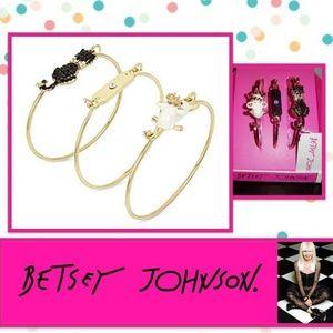 Betsey Johnson Trio Bracelets Set & Gift Box